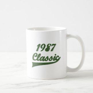 Klassiker 1987 vit mugg