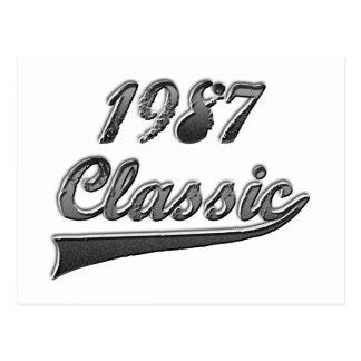 Klassiker 1987 vykort