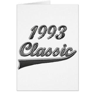 Klassiker 1993 hälsningskort