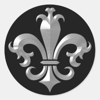 Klassiker för Saints för Fleur De LIs Önska Runt Klistermärke