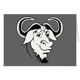 Klassiker GNU Hälsningskort