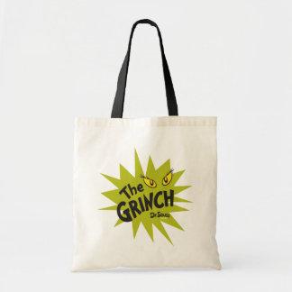 Klassiker Grinch | gröna Starburst Tygkasse