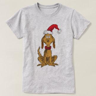 Klassiker Grinch max | - Santa hatt T-shirt