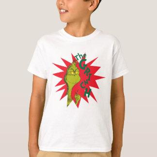 Klassiker Grinch | röda Starburst T-shirt