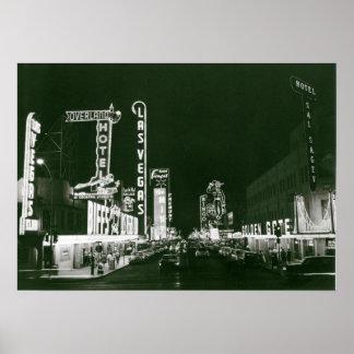 Klassiker Las Vegas Poster