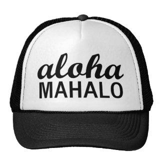 KlassikerAloha Mahalo typografi Keps