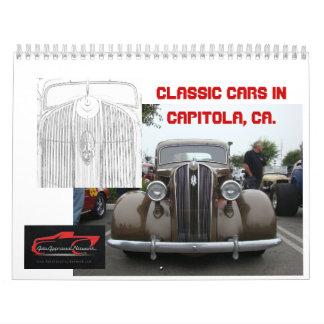 Klassikerbilar i Capitola, Ca Kalender