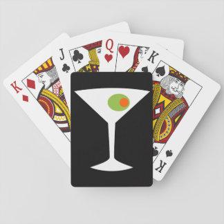 Klassikerfilm Martini som leker kort Casinokort