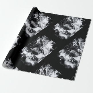 Klassikerjul i svartvitt presentpapper