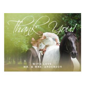 Klassikern skrivar vykortet för tack för   vykort