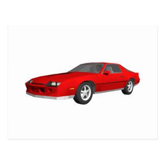 Klassikersportbil: 3D modellerar: Vykort