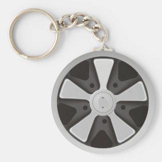 Klassikersportbiltävla rullar använt på 911 nyckelring