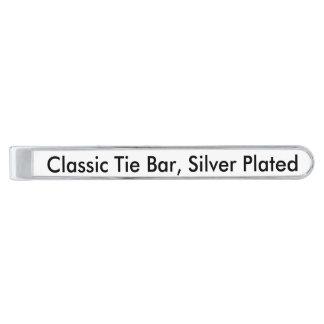 KlassikerTiepub, pläterat silver Slipsnål Med Silverfinish