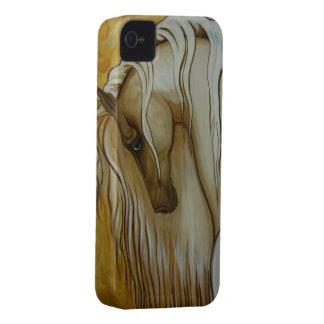 Klassisk Andalusian häst iPhone 4 Case-Mate Skydd