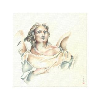 Klassisk ängel canvastryck
