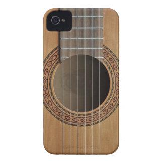 Klassisk gitarrbeigesolbränna iPhone 4 Case-Mate skal