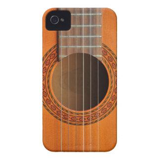 Klassisk gitarrorangesolbränna iPhone 4 cover