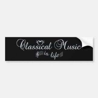 Klassisk musikbildekal bildekal