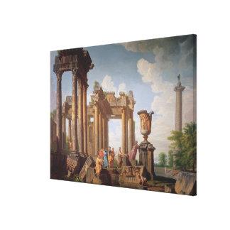 Klassisk plats canvastryck