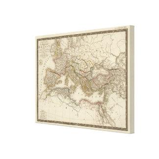 Klassisk Rome östrahalvklot Canvastryck
