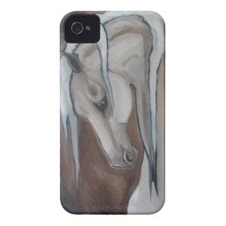 Klassiska hästgrått iPhone 4 skal