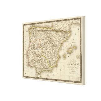 Klassiska Spanien Portugal Canvastryck