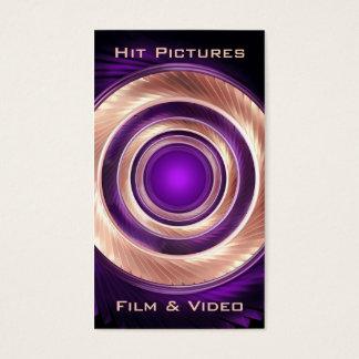 Klättra rundafilmskaparefotografen Videographer Visitkort