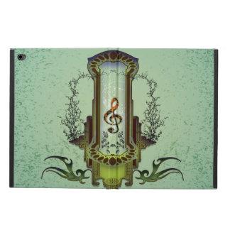 Klaven på dekorativt knäppas med ro powis iPad air 2 skal