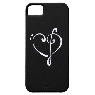 Klavhjärta iPhone 5 Case-Mate Fodraler