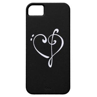 Klavhjärta iPhone 5 Case-Mate Skydd