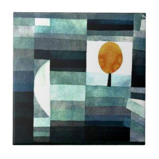 Klee: Budbärare av hösten Kakelplatta Av Kerami