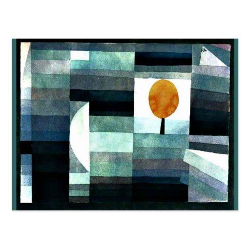 Klee: Budbärare av hösten Vykort