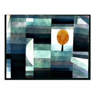 Klee - budbärare av hösten vykort