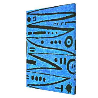 Klee - heroisk Fiddling-1938 Canvastryck