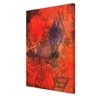 """Klee konst, """"Groynes. """", Canvastryck"""