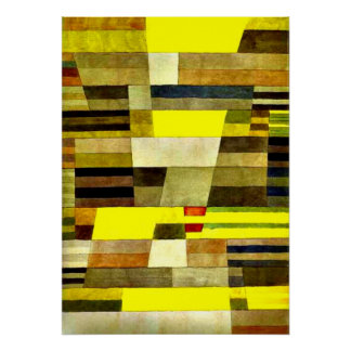 Klee: Monument Poster