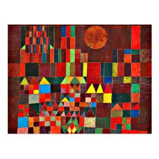 Klee - slott och sol vykort