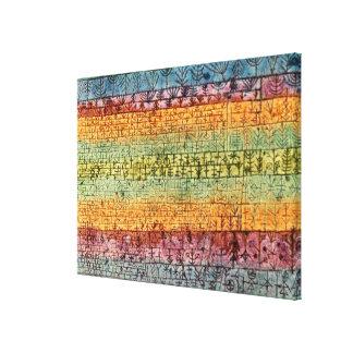 Klee - trädbarnkammare canvastryck