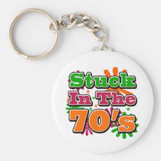 Klibbat i 70-tal nyckelring
