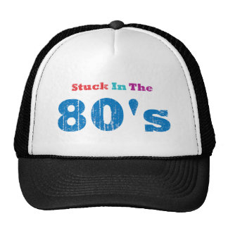 Klibbat i 80-tal trucker keps