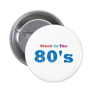 Klibbat i 80-tal standard knapp rund 5.7 cm