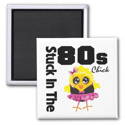 Klibbat i 80-talchicken magneter