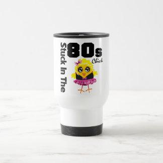 Klibbat i 80-talchicken kaffe koppar