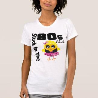 Klibbat i 80-talchicken t shirt