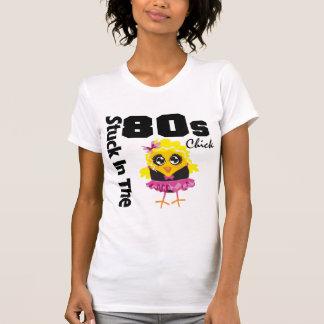 Klibbat i 80-talchicken tröjor