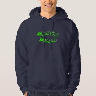 Klibbig björn sweatshirt med luva
