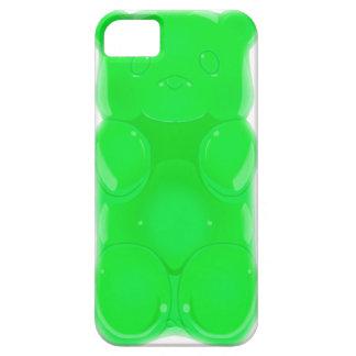 Klibbig björniphone caseGRÖNT APPLE iPhone 5 Skal