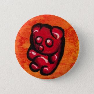 Klibbig björnväderkorn standard knapp rund 5.7 cm