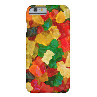 Klibbig färgad godis för björn regnbåge barely there iPhone 6 skal