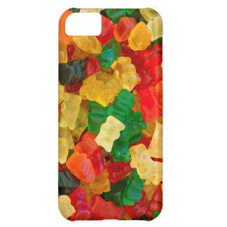 Klibbig färgad godis för björn regnbåge iPhone 5C fodral